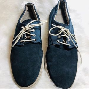 4 for $30 Men's Calvin Klein blue suede laced